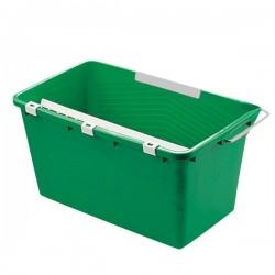 UNGER seau laveur vitre avec tamis et crochet porte-outils vert 18L
