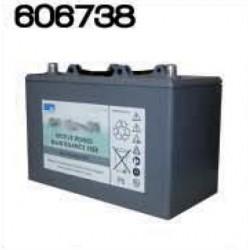 Batterie 12V 56Ahr pour autolaveuses grises antérieures à 2005 et modèle TLB345 - NUMATIC