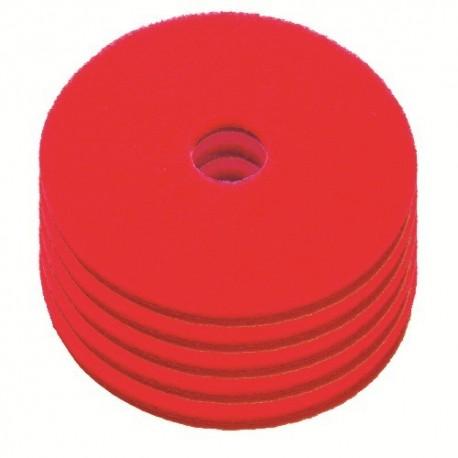 Disque de lustrage rouge diamètre 604mm - Carton de 5 - NUMATIC