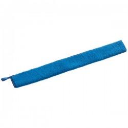 Microfibre bleue, fils ras sur 2 faces