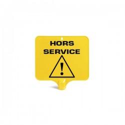 Panneau HORS SERVICE