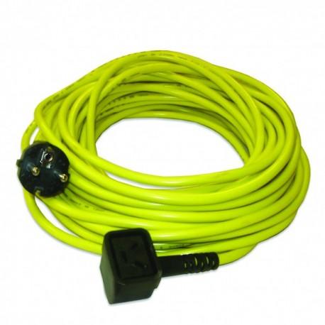 Câble jaune 15m 3x1,5mm² NUPLUG pour NVQ370 - NUMATIC