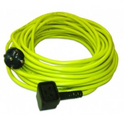Câble jaune 10m 3x1,5mm² NUPLUG - NUMATIC