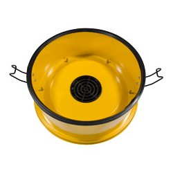 Carter complet avec microfibre pour binomoteur HZD Ø 356mm - NUMATIC