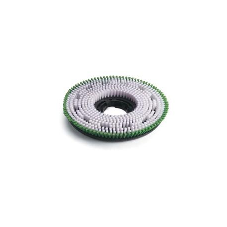 Brosse de lavage verte Polypropylène Ø 450mm - NUMATIC