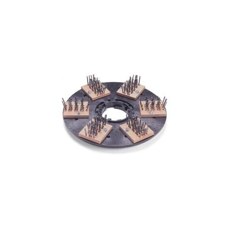 Plateau support brosses de scarification fils - NUMATIC