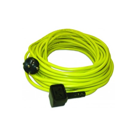 Câble jaune NUPLUG 3x1,5mm² ‐ 20m - NUMATIC