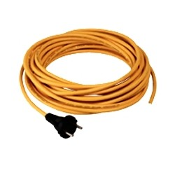 Câble jaune SANS PLUG 3x1,5mm² - 15m - NUMATIC